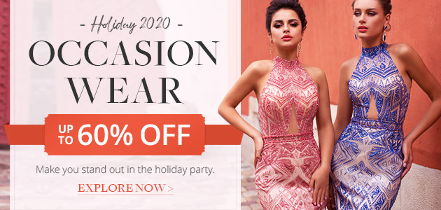 Holiday 2020 Occasion Wear Up To 60% Off