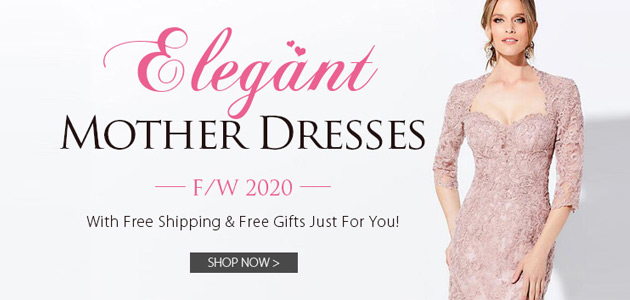 Elegant Mother Dresses For F/W 2020